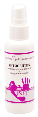 Антисептик с эфирным маслом апельсина и экстрактом полыни 100 мл