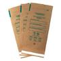 Крафт-пакеты,бумажные самоклеющиеся (коричневые), упаковка 100 шт. Фото 2