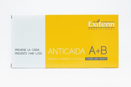 """Ампулы Термоактивный комплекс от выпадения волос с витаминами А и В""""Tratamiento Capilar A+B"""" в ампулах (10 шт х 7 мл)"""