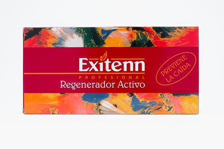 """Ампулы Кератиновый комплекс от выпадения волос """"Regenerador Activo"""" (10 шт х7 мл))"""