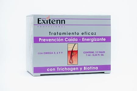 Exitenn Ампулы Термоактивный комплекс от выпадения волос в ампулах Anticaida Energizante Trichogen (12 шт х7 мл)