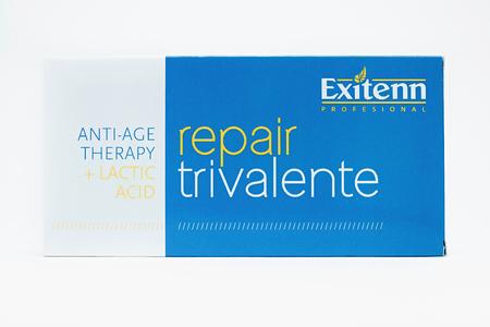 Exitenn Repair Trevalente Восстанавливающая эмульсия для волос 10х6 мл