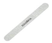 Проф. пилка для натуральных и искусственных ногтей Серебро 180/240 (закругленная)