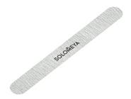 Проф. пилка для натуральных и искусственных ногтей Серебро 100/180 (закругленная)