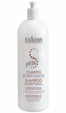 Шампунь для глубокого очищения волос Purificante pH8 1000мл